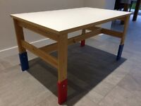 Ikea Wooden Childrens craft/play Table