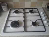 Gas cooker & electric hob