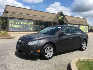 2014 Chevrolet Cruze 2LT / SUNROOF / LEATHER / ALLOYS / STERIO U