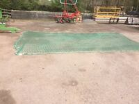 SAFTEY NETTING FOR USE ON CONSTUCTION SITES