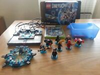 Xbox 360 Lego Dimensions + Extra Figures (Disc Still Sealed) (Proof Of Purchase Receipt £87)