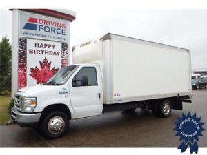 2015 Ford E-350 16 Ft Cube Van Rear Wheel Drive - 51,436 KMs