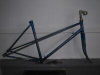 vintage steel Raleigh Wisp ladies mixte steel frame + some parts - PROJECT!