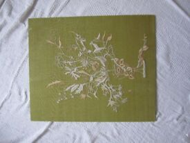 Large embroidery picture in good condition – Dimensions H 60cms W 49.5cms.