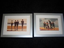 2 x paintings / pictures with frames