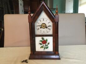 American steeple clock with alarm