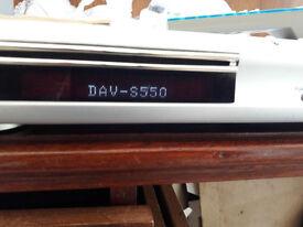 Sony DAV-S550 DVD 5.1 surround sound system