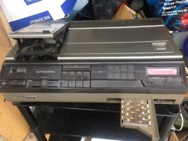 Phillips vintage VCR 1700 long play 1970s