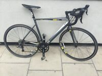 Racer in fantastic conditions paid £500 in Halfords, one year old, carbon fork, bike size cm 58