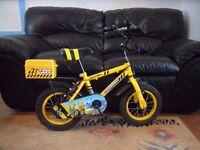 "Boys Apollo Digby Bike With Tool Box 12"" wheels"