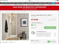 Shower Door 900mm