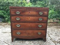 Small antic chest of drawers