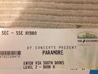 2 Paramore tickets for 20th of January