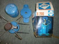 Camping Gaz Bleuet S200 with new canister
