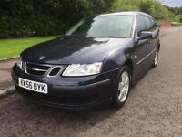 SAAB 9-3 , ESTATE CAR , 1800 CC , 2007 REGISTERED , MOT MARCH 2018 ,