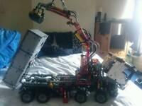 Technic lego lorry