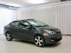 2013 Kia Rio SXT GDI SEDAN w/ Backup Camera, Sunroof, and Alloy