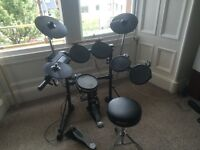 Roland TD3 Six Piece Electric Drum Kit. Excellent Condition.