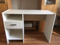 White ikea dressing table