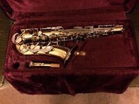 BOOSEY/HAWKES ALTO SAX/SAXOPHONE 400: IDEAL STUDENT Sax : recently serviced : in EXCELLENT condition