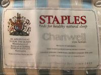 Staples King Size mattress excellent condition