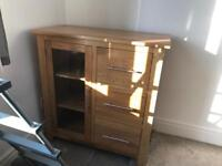 Oak furniture land cabinet
