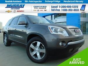 2012 GMC Acadia SLT2 AWD *Quads *Pr moon *XM *Remote start *Loca