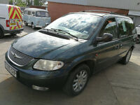 Chrysler Voyager 2.5 LX CRD 2001 7 Seater Manual