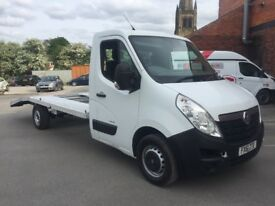 Vauxhall movano master recovery truck 2011 61 2.3 cdti lwb 2 owner well serviced drives excellent