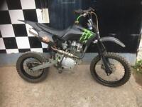 Pit bike xsport 150cc ghost big frame