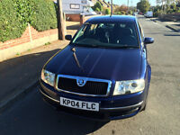 **REDUCED!** 2004 Skoda Superb 1.9 TDI (Heated Seats, Part Leather, 50 MPG, Remap, Service History!)
