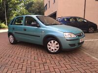 2004 VAUXHALL CORSA 1.0 PETROL 5 DOORS-- ONLY DONE 32K-- MOT TILL JAN. 2017-- ONE OWNER FROM NEW