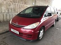 2001 TOYOTA PREVIA 2.4 CDX LPG GAS AUTOMATIC PETROL 7 SEATER MPV SPACIOUS NOT GALAXY SHARAN VOYGER