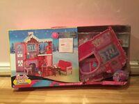 Barbies dream house / cabin/ car / horses / clothes + Barbies