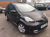 2014 TOYOTA AYGO VVT-i MOVE STYLE 1.0 PETROL 5dr # SAT NAV MODEL # LOW MILES # BARGAIN # CAT C