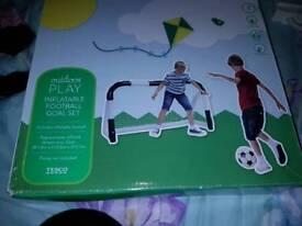 Toy football goal