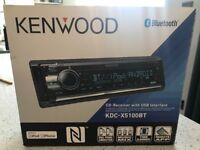 BN Kenwood car radio/CD player USB bluetooth