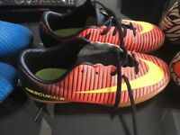 Football boots and turfs for sale x 3