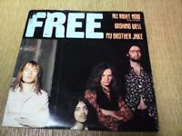 "FREE 7"" E.P ALL RIGHT NOW (long version) WISHING WELL,MY BROTHER JAKE. SUPERB CONDITION."