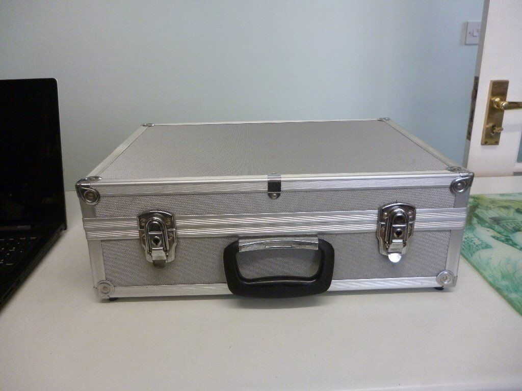 aluminium storage case.