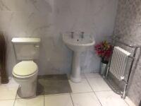 Toilet, Basin & Radiator