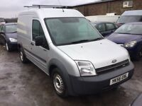 2006 FIRD TRANSIT CONNECT LONG WHEELBASE HIGHTOP IN VGC LOVELY DRIVER READY FOR WORK LONG MOT