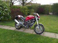 Ducati Monster 900 ie only 11,000 miles