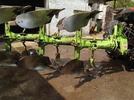 DOWDESWELL 3 FURROW REVERSIBLE PLOUGH