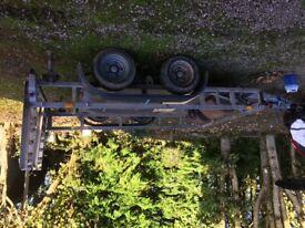Ifor Williams Plant trailer £1500