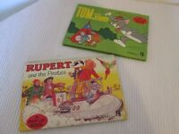 RETRO/VINTAGE CHILDREN'S COLLECTIBLE POP UP HARD BACKED BOOKS