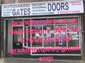 Automatic GATES, DOORS,Furniture,Carpentry services