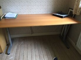 Desks good quality. 1 with drawers & 1 with pedestal