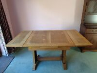 Heavy solid Wooden extending table