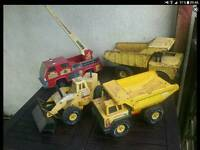 COLLECTION OF FOR RETRO TONKA TRUCKS £50 ONO THE LOT